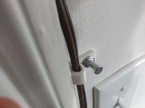Thumb Tack Wire Clip