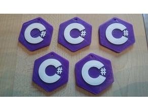 C Sharp keychain