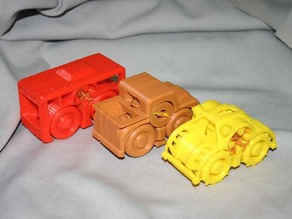 Rubber Band Powered Car Collection II