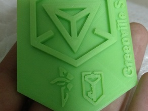 Ingress Cross-Faction Badge (Enlightened & Resistance)