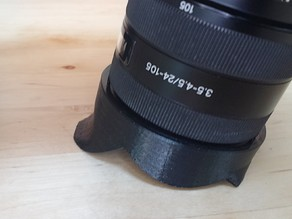 Flexible Lens Hood for Sony SAL24105 24-105f3.5-4.5