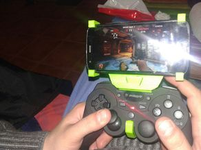 gamepad phone holder