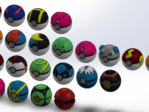 In-Game Pokéball Collection