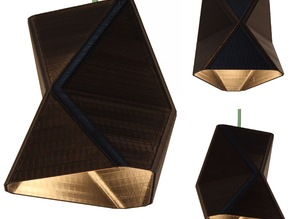 Customizable Pendant Lamp Shade