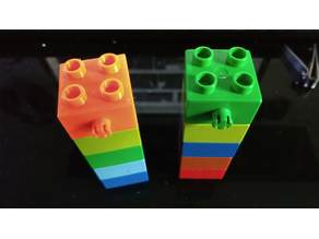 Duplo brick for suspension bridge