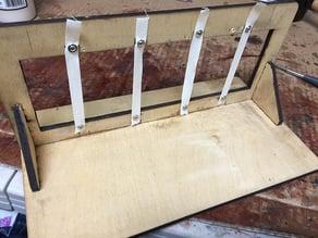 Lasercut Book Binding Frame