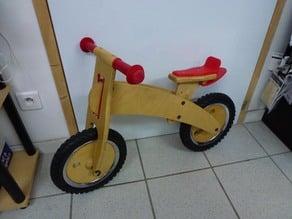 Dandy-horse / Draisienne bike - fender & saddle