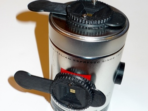 CoffeeCam: a Shutter for Large Format Pinhole Can Cameras