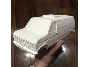 1980 Ford E-250 XLT (optimized for 3d printing)