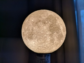 3.3-inch Moon Lamp for Small IKEA HEMMA Table Lamp
