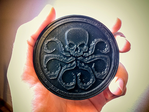 Hydra Medallion from the Captain America movie