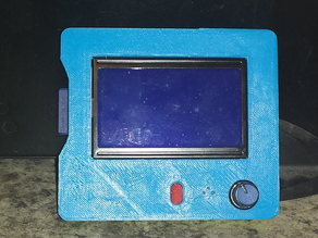 Case for the Full Graphic Smart LCD Controller with SDcard access and separate button