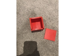 sliding mechanism container/ box