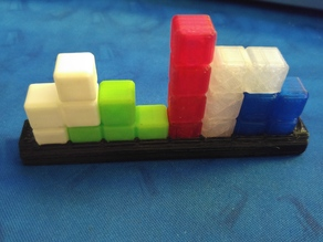 Simple Tetris Set Shelf