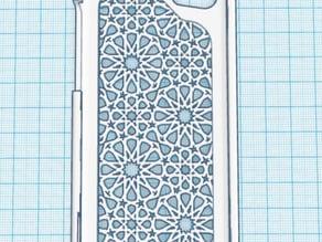 iPhone 5c Arabesque pattern case