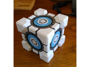 Portal Cube ( Weighted / Companion cube )