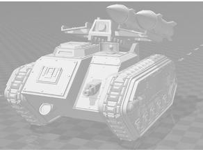 Deathstrike / Manticore like vehicle - WH40k