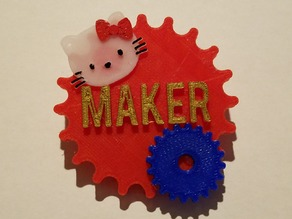 Personalized Maker Buttons