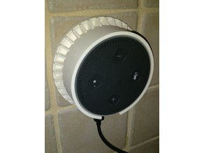 Echo Dot Wall mounted Holder, with Speaker Grill
