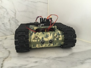MR - 4 : Robotic Tank