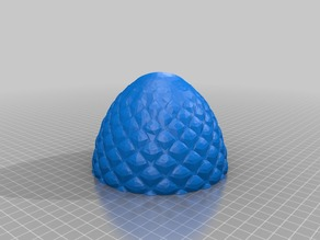 Dragon Egg Container for 8mm magnets