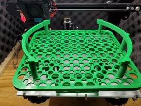 Spool and silica holder