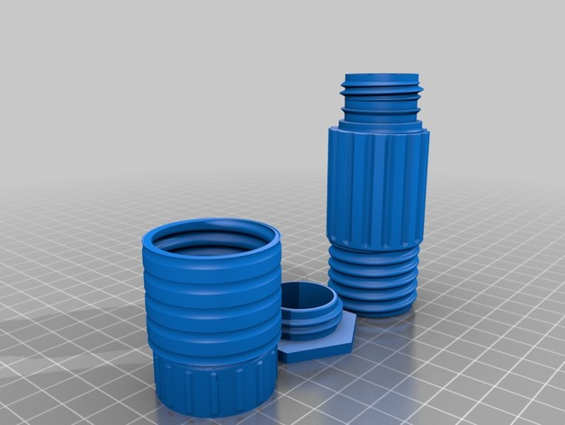 sawyer mini carbon filter by markussteiermark thingiverse