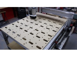 "PRO Series ""CNC Router Parts"" Spoilboard"