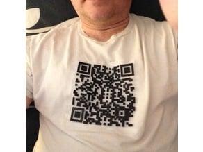 QR Scan T-ulle Shirt