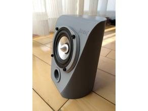 nice 2.0 speaker box(USE THX approved speaker)
