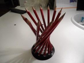 My Customized parametric hyperbolic pencil  holder
