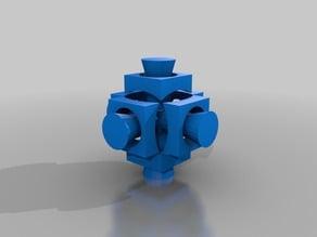 Rubik's Companion Cube (Less Glue)