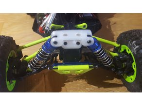 WLtoys 12428 front shock tower