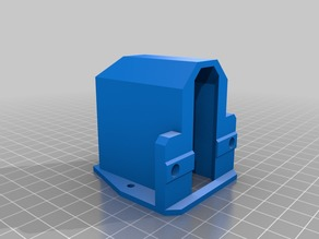 More Customizable V-Slot Power Plug Cover/Mount
