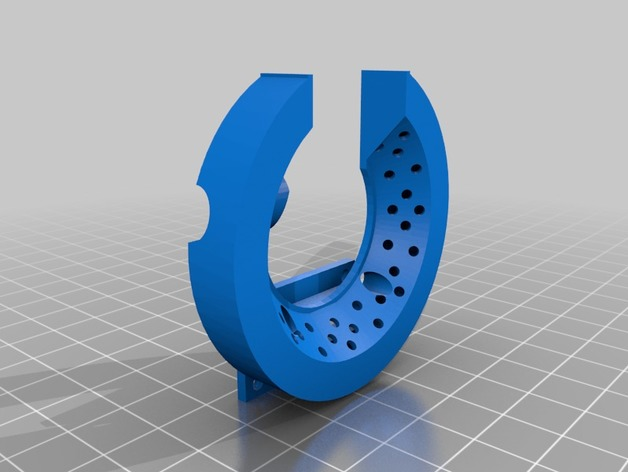 ANYCUBIC Kossel Plus Filament Cooler Round by Feldi123