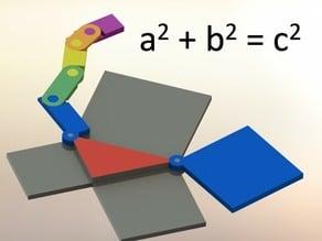 Pythagoras Prints a Proof