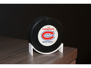 Hockey Puck Stand