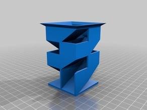 Minion's Customized Angular Dice Tower