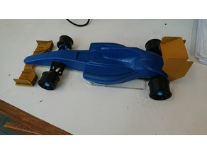 OpenRC F1 car - 1:10 RC Laser cut Chassie