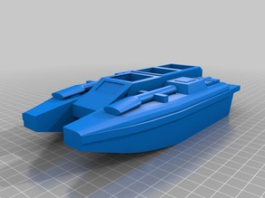 Boat and Anti-Grav Tank