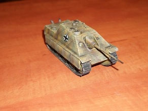 Tank Jagdpancer scale 28 mm