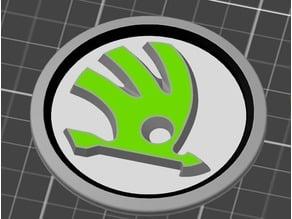 Skoda logo for multi material