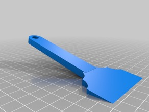Spatula for 3D prints