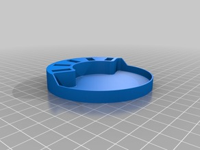 USB flash drive stand & desktop bowl