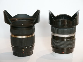 Lens Hood for Sony Tamron Minolta super wide agle zooms
