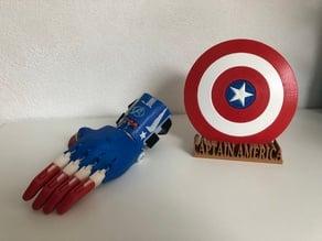 e-NABLE Phoenix Hand captain america