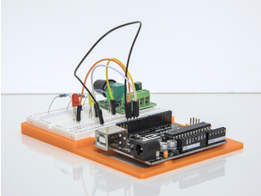Arduino Uno R3 Project Holder Small Breadboard