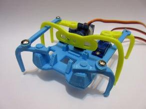 printed Micro-Hexapod