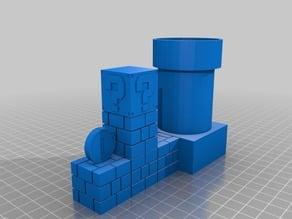 Super Mario - Desktop PLANTED POT Planter