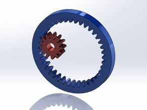 Internal & External Gear Example